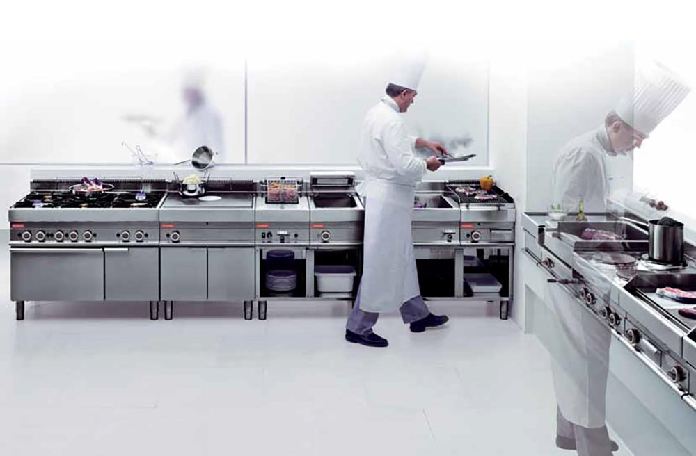 keukenapparatuur voor horeca en commerciele keuken