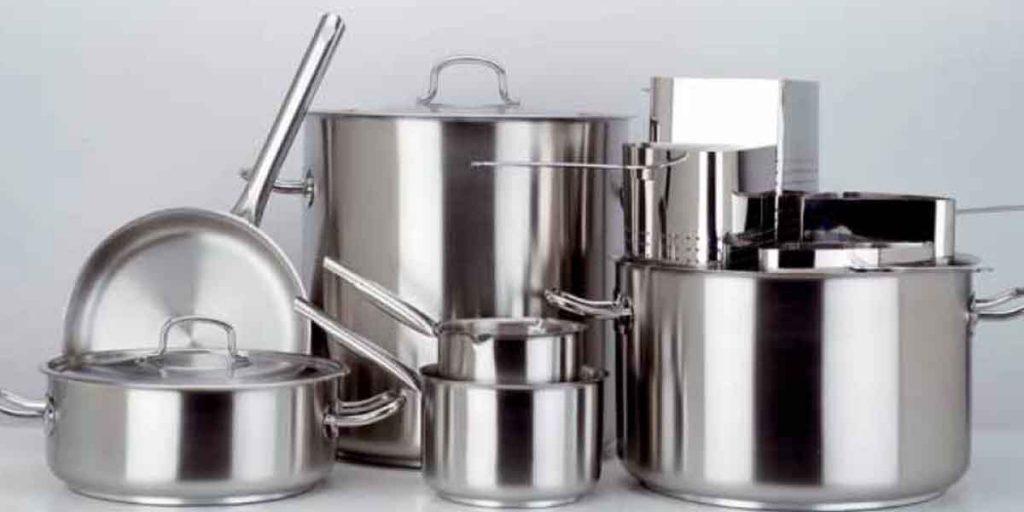 potten en pannen voor de professionele keuken